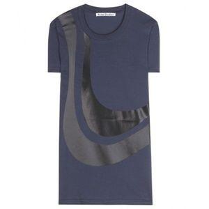 ACNE STUDIOS t-shirt - cotton jersey - XXS - NWT